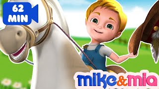 Yankee Doodle Nursery Rhyme | Kinds Songs | Collection of Nursery Rhymes for Children by Mike & Mia