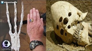 """Creepy """"Alien Remains"""" Found In Isolated Cave? 1/8/17"""