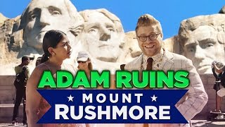 Why Mount Rushmore is the Weirdest Monument