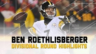 Ben Roethlisberger Leads Steelers to AFC Championship | NFL Divisional Player Highlights