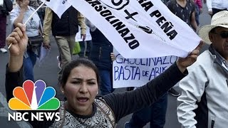 Steep Gas Price Hike Sparks Angry Protests In Mexico | NBC News