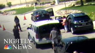 Love Field Shooting Caught on Surveillance Camera | NBC Nightly News