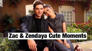 Zac Efron & Zendaya   Cute Moments