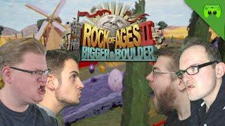 Ein laufender Felsen?  🎮 Rock of Ages 2 #3