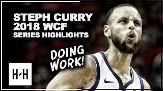 Stephen Curry EPIC Full Series Highlights vs Rockets   2018 Playoffs West Finals