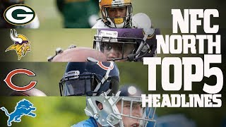 NFC North Top 5 Offseason Headlines Heading into the 2017 Season! | NFL NOW