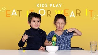 Kids Play Eat It or Wear It