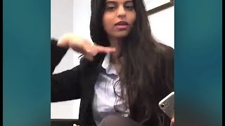 Shahrukh Khan Daughter Suhana Khan This Video Will Make You Believe That Shes A BOLLYWOOD Ready