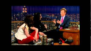 The White Stripes - Interview ConanStudio 6A [HD]