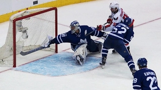 Johansson in OT pushes Capitals to round two, ends Maple Leafs season