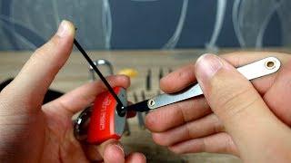 Kann ein Anfänger ein Vorhängeschloss knacken? - Lockpicking Set im Test