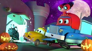 Das JAHRMARKT MONSTER für HALLOWEEN - Carl der Super Truck in Car City 🚚 ⍟ Cartoons für Kinder