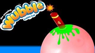 Wubble Bubble + Fluffy Schleim + Böller = Experiment