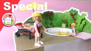 Playmobil deutsch - Pimp my PLAYMOBIL - Pool aus Müll basteln -  Kinder DIY - Family Stories