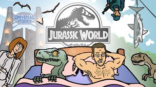 Jurassic World Trailer Spoof - TOON SANDWICH