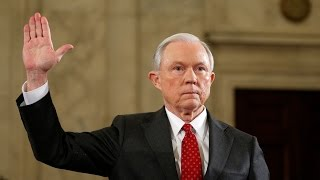 Sessions Faces Repeated Interruptions by Protesters & Weak Line of Questioning at Confirmation