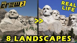 The Crew 2 - 8 Real Life Landscapes