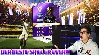 FIFA 17: BEST CARD IN FIFA! POTY 95 CAVANI! 🔥😱 (DEUTSCH) - ULTIMATE TEAM - SPIELER DES JAHRES!
