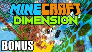1000 TNT VS. UNSERE DIMENSION BASIS  ☆ Minecraft DIMENSION #BONUS