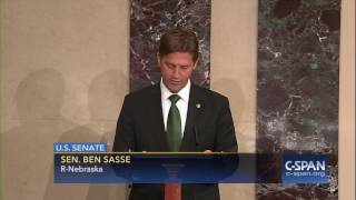 "Sen. Sasse to President Trump on making recess appointment: ""Forget about it."" (C-SPAN)"