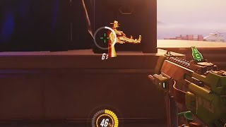 Overwatch Funny Moments 34 - Sombra Spots McCree Having Lunch