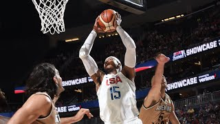 USA vs Argentina Exhibition Game Full Highlights