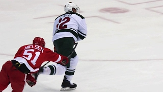 Staal goes bar down to open scoring in Motown