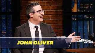 John Oliver Does Not Care About the Royal Engagement