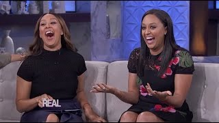 Tia Mowry-Hardrict Stops by