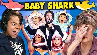 Generations React To Baby Shark (Memes, Covers, Live)