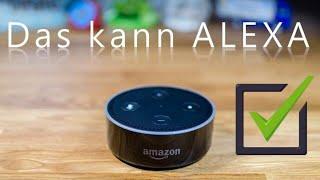 Amazon ALEXA - das kann der ECHO DOT schon jetzt