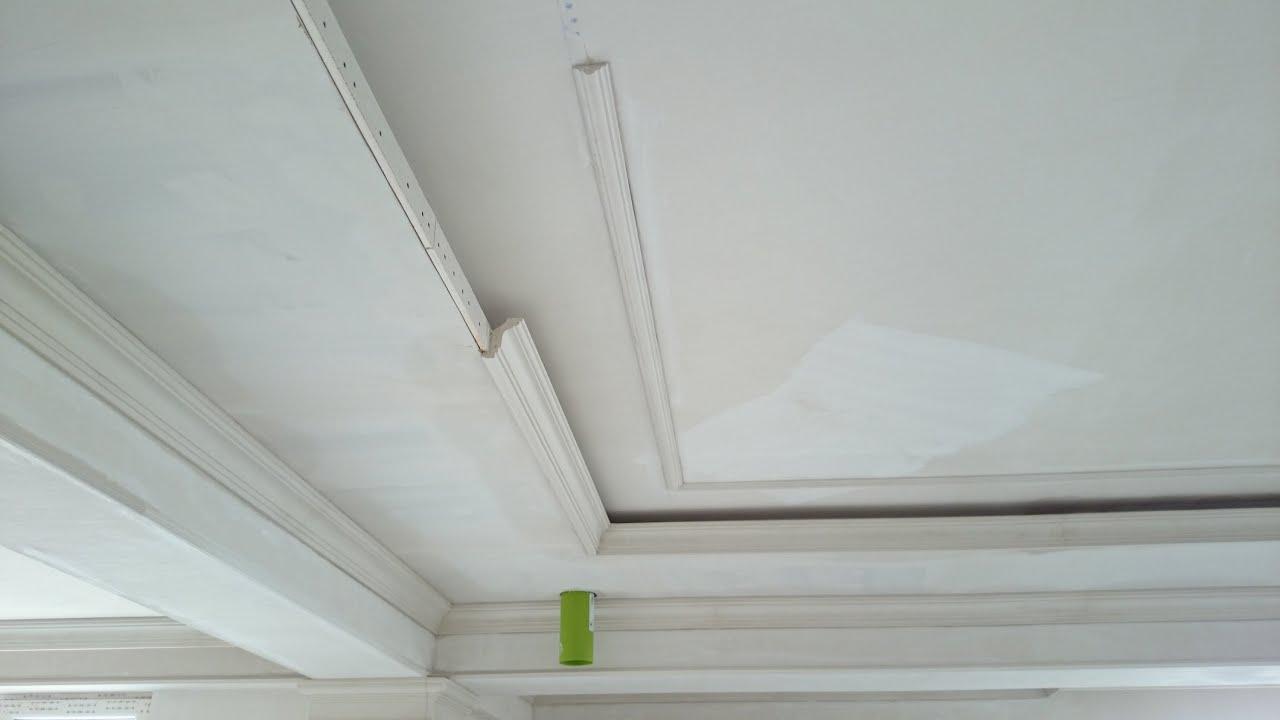 Как сделать бортики-ниши на потолке