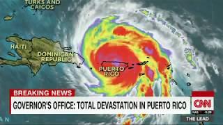 Hurricane Maria wreaks destruction in Puerto Rico