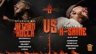 HITMAN HOLLA VS K-SHINE SMACK/ URL RAP BATTLE | URLTV