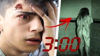 SCHAUE DIESES VIDEO NICHT UM 3 UHR NACHTS !! 😲🕒*SEHR GRUSELIG*