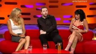 The Graham Norton Show Anna Kournikova, Jason Manford & Katty Perry   Parte2