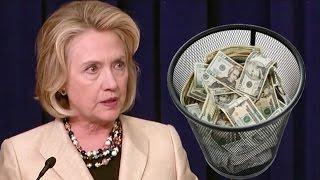 Hillary Clinton Blew 1.2 Billion Dollars on Presidential Campaign! 😂