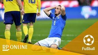 WM-Play-offs 2018: Schweden verpasst Italien den WM-K.o.