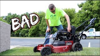 Best and Worst lawn Mowers of the Season- The Good, the bad and the Ugly