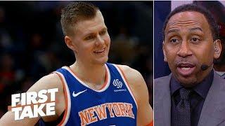 Knicks had no choice but to trade Kristaps Porzingis - Stephen A. | First Take