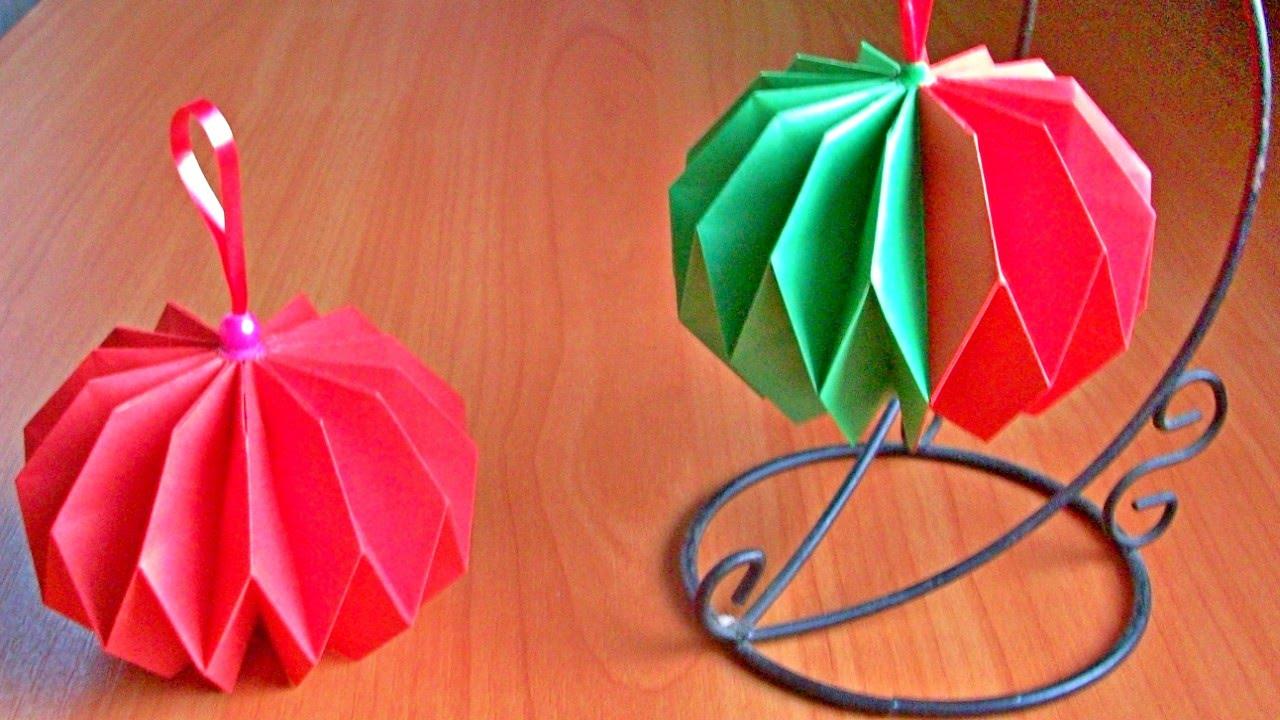 Видео как сделать игрушку своими руками из бумаги