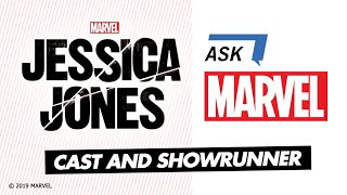 Marvel's Jessica Jones cast answers YOUR questions!   Ask Marvel