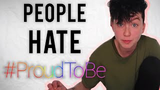 People are mad about #ProudToBe?
