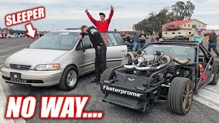 I Lost To a FREAKING MINIVAN! It Was a 150mph SLEEPER!