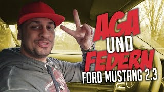 JP Performance - AGA und Federn | Ford Mustang 2.3 Eco Boost