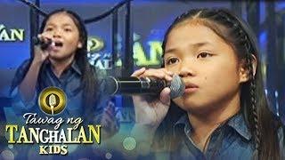 """Tawag ng Tanghalan Kids: Lorraine sings her own version of """"Ikaw"""""""