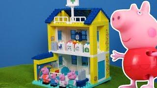 Peppa Pig Wutz deutsch: Neue Krankhaus & Krankenwagen Spielsachen 2016   Peppa Pig Wutz deutsch