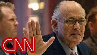Rudy Giuliani joins Trump