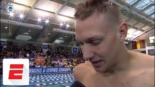 Caeleb Dressel after record run: