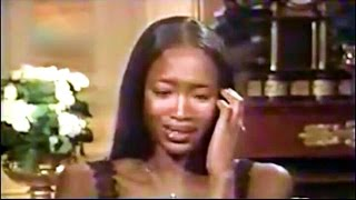Naomi Campbell Cries After Hearing Versace